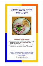 hcg diet recipes book