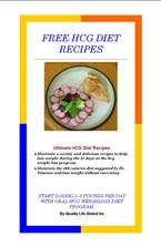 hcg diet recipes book