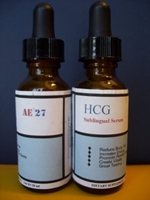 hcg sublingual mixing supplement formula AE-27