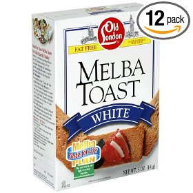 melba toast diet cookies