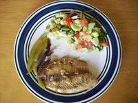 fish vegetable mix hcg diet